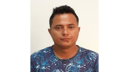 Alias'David',cabecilla financiero de los'Pachencas'en el departamento del Magdalena. Foto: Policía Nacional.