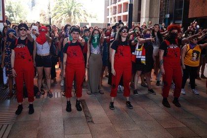 Teza feministă colectivă (EFE)