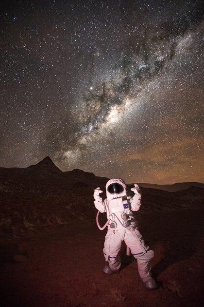 """Suelo rojizo, paisaje árido, ambiente desértico: la Puna argentina, sin duda, es una especie de """"Marte en la Tierra"""""""