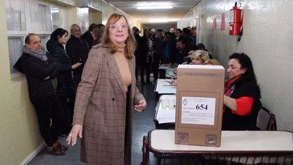 Alicia Kirchner, gobernadora de Santa Cruz (Walter Diaz)
