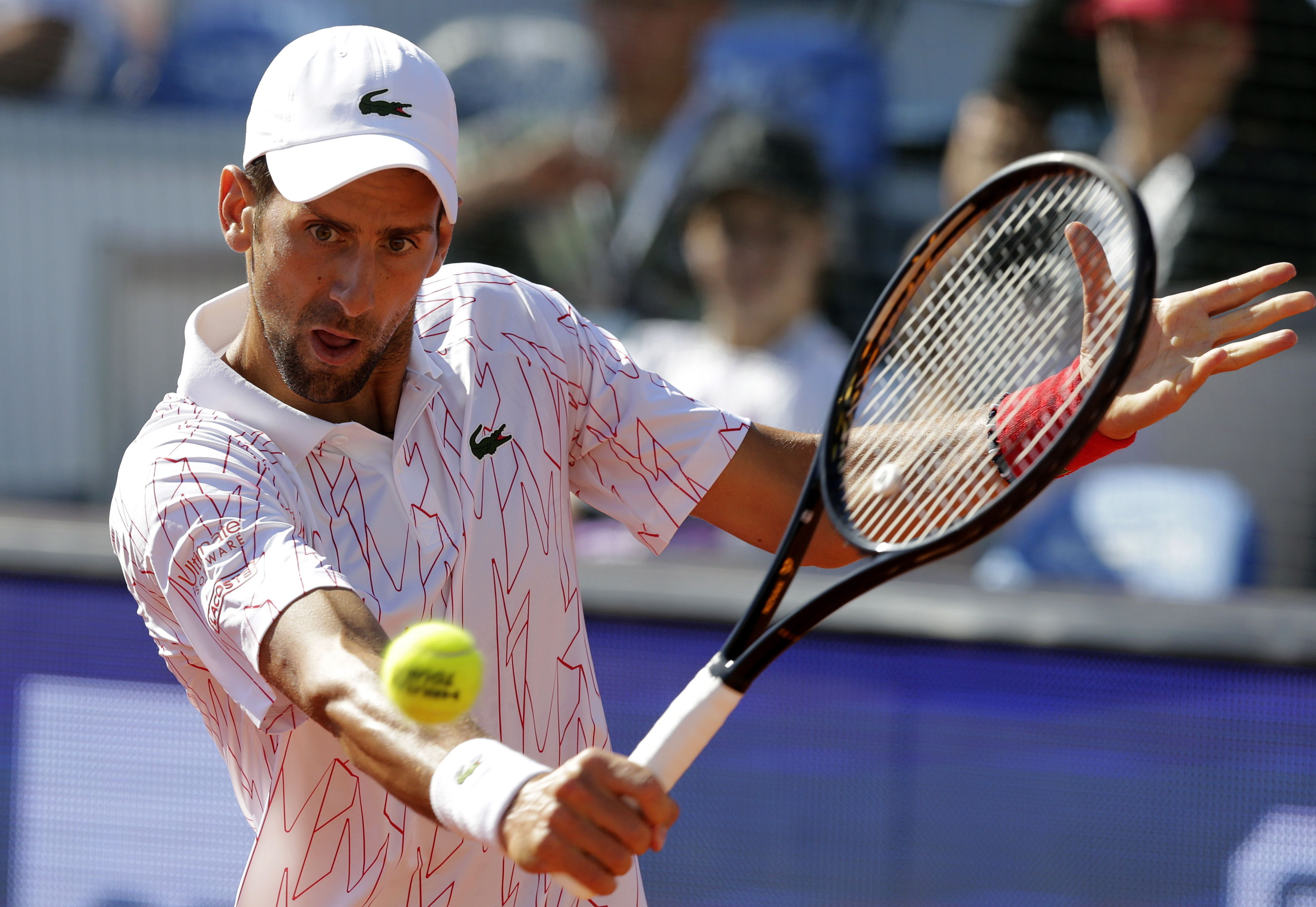 Novak Djokovic confirmó su participación en el US Open y en el Masters de Cincinnati (EFE)