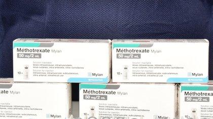 El Gobierno Federal recibió metotrexato importado de Francia, es usado para tratar diferentes tipos de cáncer, artritis reumatoide y psoriasis grave, se adquirió entre 3 y 8% más de lo que se compra en México (Foto: Cuartoscuro)
