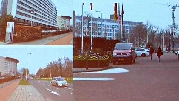 Los agentes rusos habían estacionado un coche en un hotel cerca de la OPAQ cargado de equipamento para realizar un ataque cibernético