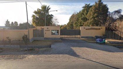El barrio privado en el que se ubican dos de las propiedades incautadas (Google Street View)