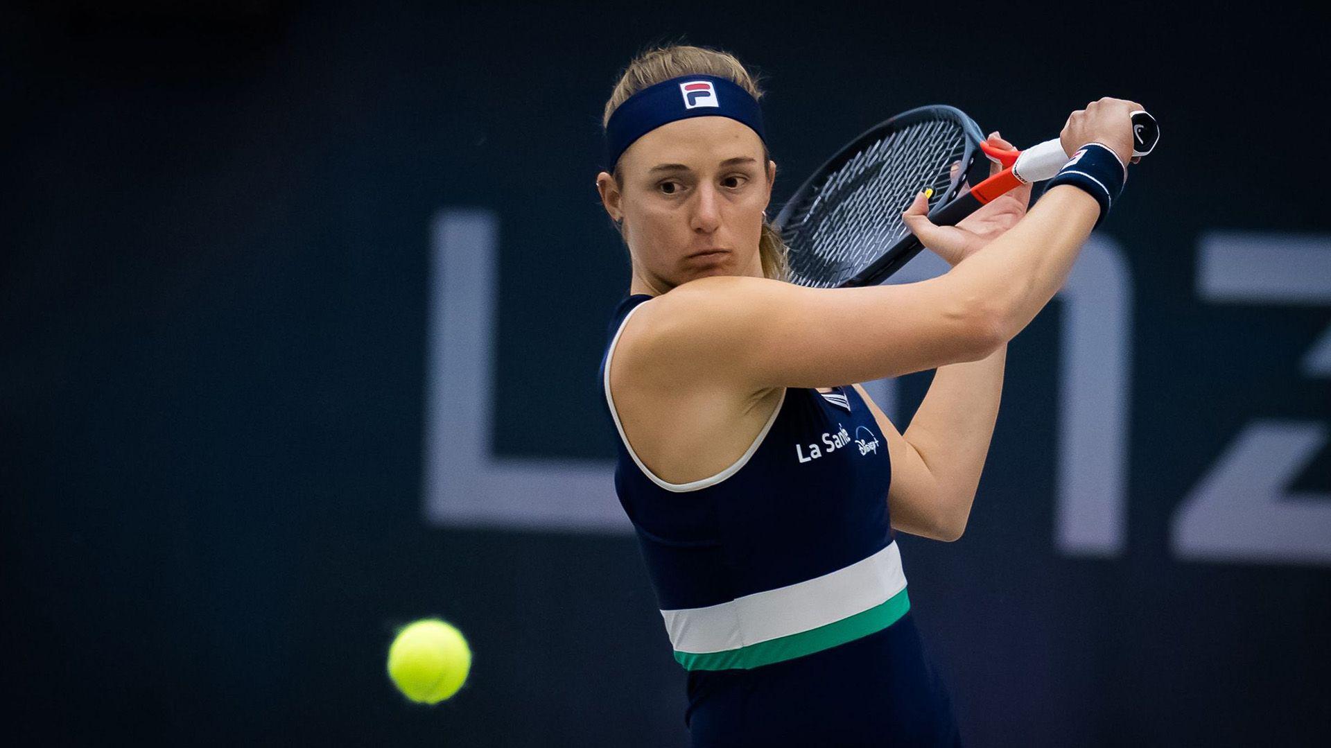 Nadia Podoroska WTA Linz