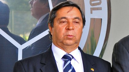 Álvaro González Alzate, segundo vicepresidente de la Federación Colombiana de Fútbol y presidente de la rama aficionada.