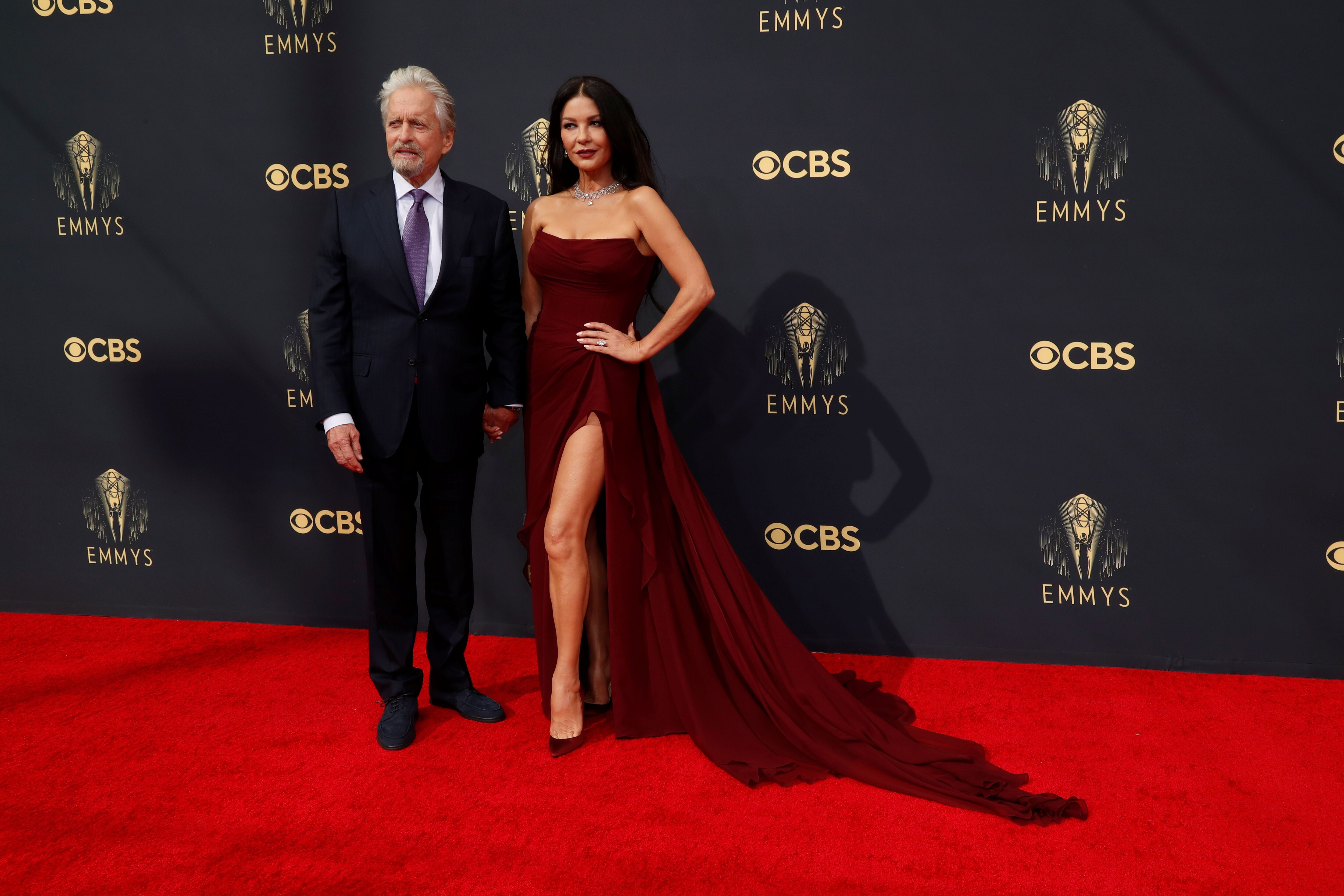 """Michael Douglas - """"El icónico actor y la bellísima actriz sí o sí tienen que estar entre los mejores looks"""", opinó Profumo"""