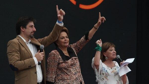 La ex presidenta de Brasil Dilma Rousseff