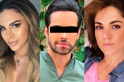 Zoraida Gómez, hermana del actor, acudió al domicilio de Tefi a recoger las pertenencias de Eleazar (Foto: Instagram@zoraidagomezmx/@tefivalenzuela/@eleazargomez333)