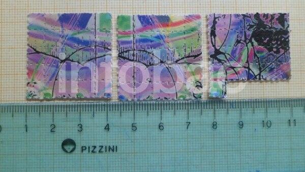 Colores raros: otros cartones del lote testeado.