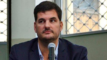 El secretario de Seguridad, Eugenio Burzaco. (NA)