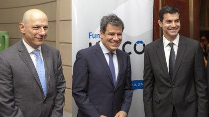 Sergio Berensztein, Facundo Manes y Juan Manuel Urtubey
