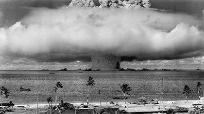 La prueba nuclear realizada en Estados Unidos en 1954. Las consecuencias fueron peores de lo previsto (Foto: Especial)