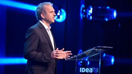 """""""No quiero una Argentina cancelada"""", dijo Roberto Alexander, presidente del 56° Coloquio de IDEA"""