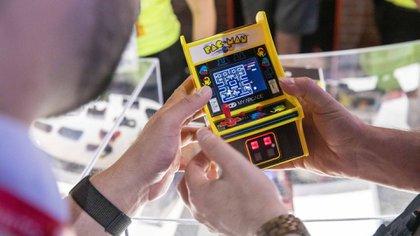 Una versión de Pac-Man durante el evento E3 en Los Ángeles, California, el 11 de junio de 2019 (Kyle Grillot/Bloomberg)