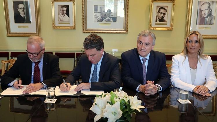 El financiamiento incluye obras de energía en la provincia de Jujuy