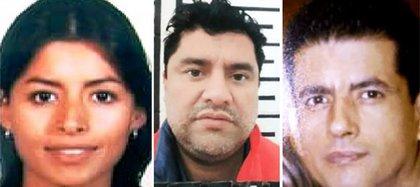 """Nadia, Juan José y Juan Ignacio, tres de los hijos de """"El Azul"""" (Fotos: archivo y Zeta)"""