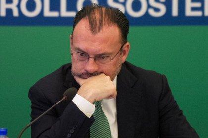 """La compra de una casa de Malinalco es uno de los escándalos de Luis Videgaray, el """"supersecretario"""" de Enrique Peña Nieto (Foto: Cuartoscuro)"""