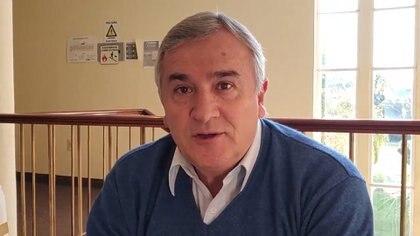 El gobernador Gerardo Morales