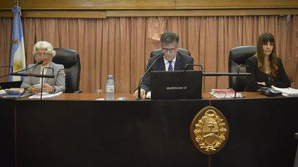 López Iñíguez, Costabel y Palliotti, los tres jueces del Tribunal Oral Federal 4 (Gustavo Gavotti)