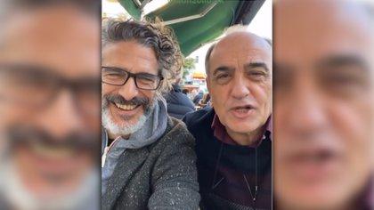 Merlí en Buenos Aires: Francesc Orella Pinell entre asados y grabaciones con Leo Sbaraglia