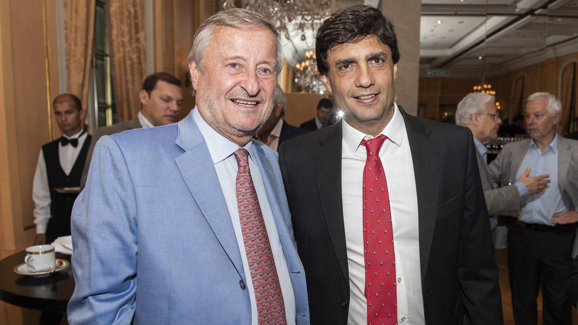 Cristiano Rattazzi y Hernán Lacunza