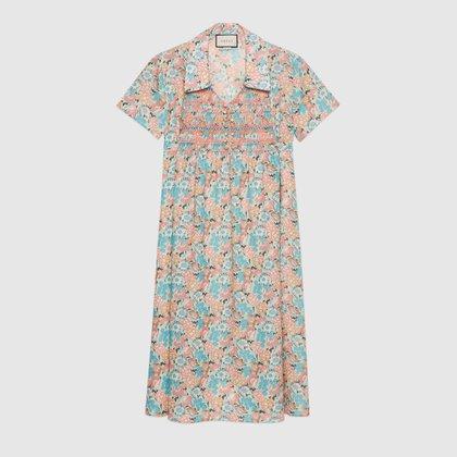 El vestido floreado de 1300 euros by Gucci