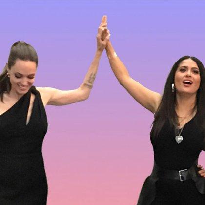 "Angelina y Salma formarán parte de ""The Eternals"" (IG: salmahayek)"