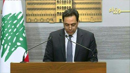 Líbano  no podrá honorar el próximo lunes el pago de un vencimiento de su deuda emitida en eurobonos, por lo que incurrirá en el primer default de su historia, con el telón de fondo de una crisis económica sin precedentes, anunció el sábado su primer ministro.
