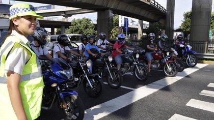 Las motos son actores principales en autovías, rutas y autopistas