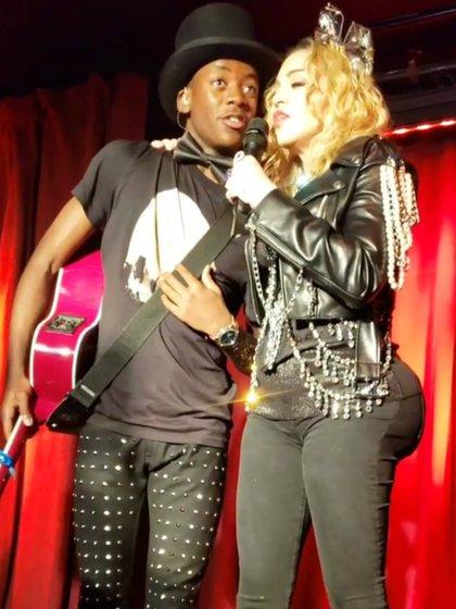 La anatomía de Madonna no deja de llamar la atención (Instagram/ micheleruiznyc)
