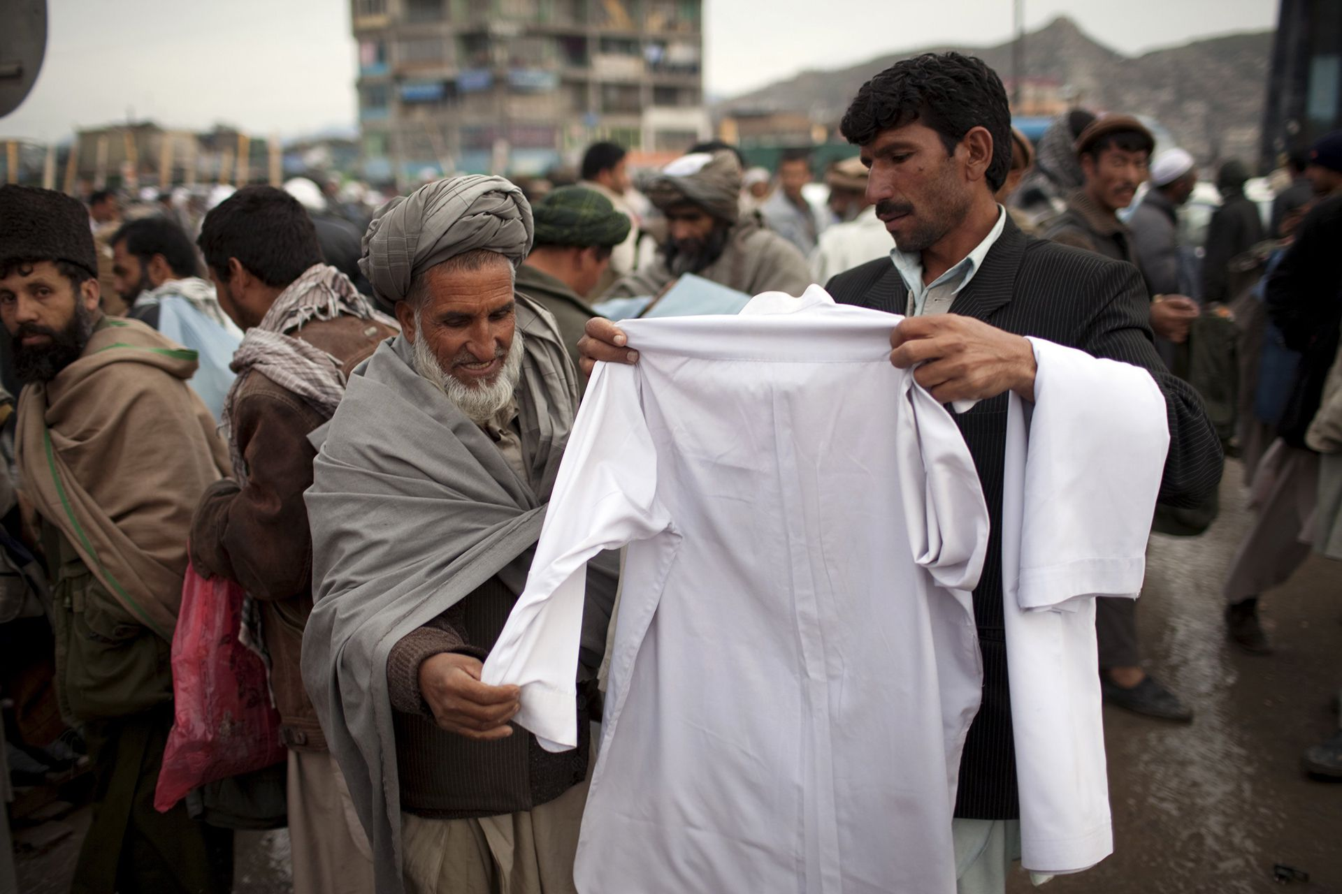 código de vestimenta afganistán