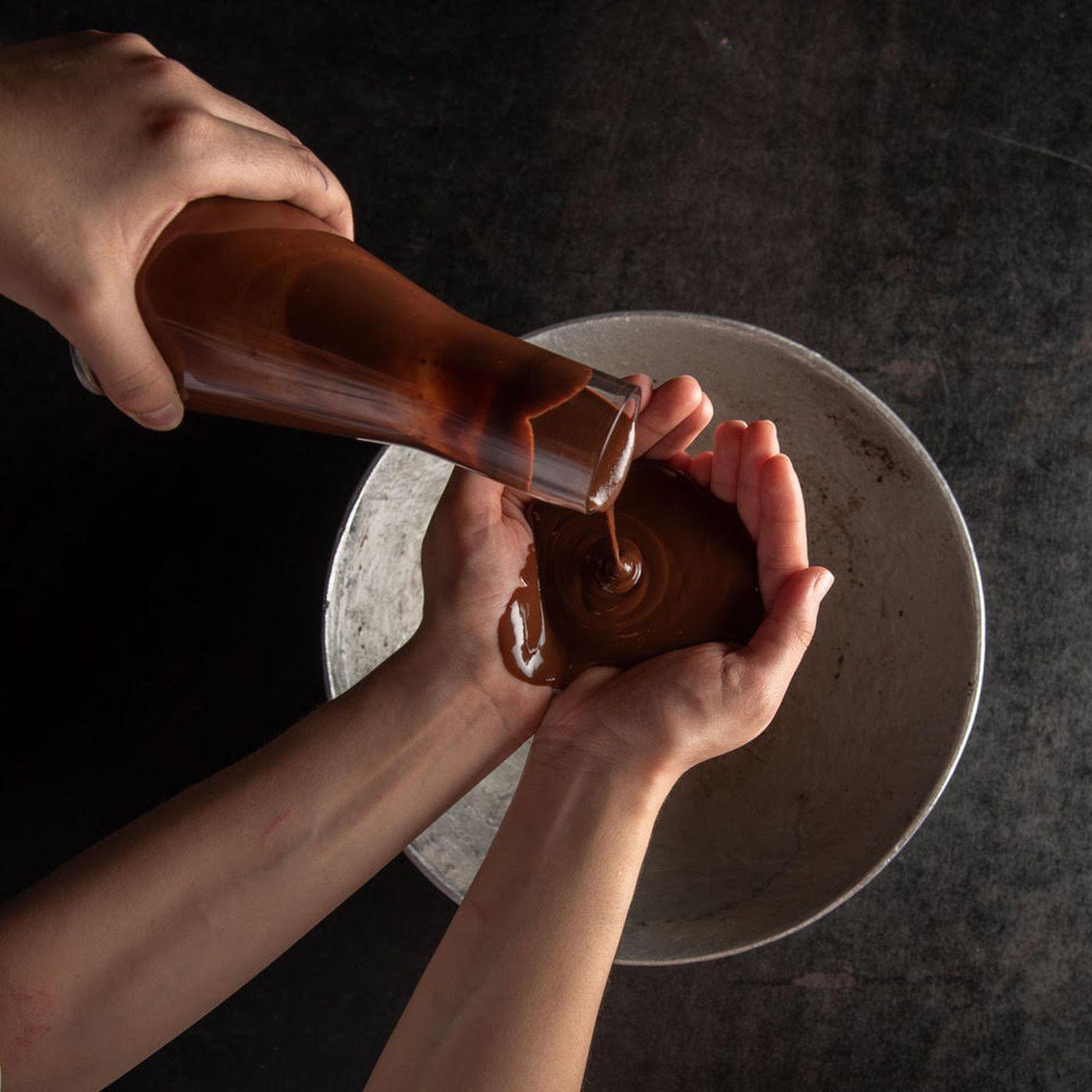 Baño de chocolate de Elcielo. Foto: Elcielo.