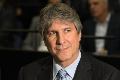 El ex vicepresidente Amado Boudou (EFE/Aitor Pereira/Archivo)