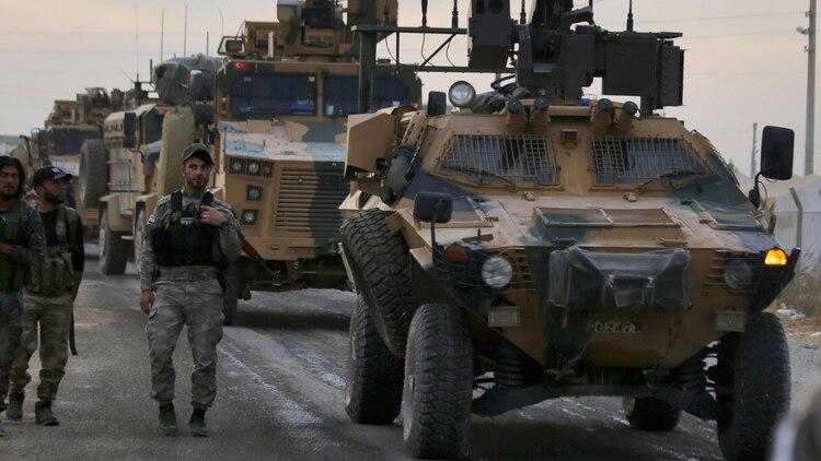 Ofensiva turca en el norte de Siria contra los kurdos (AFP)