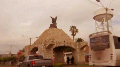 El monumento con el que el líder hucahicolero marcó su territorio en Guanajuato  (Foto: Especial)