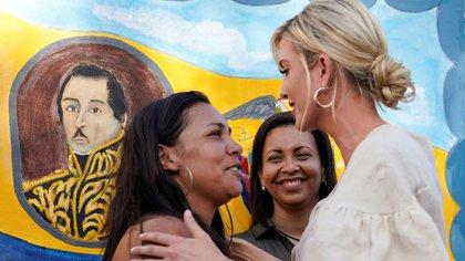 Ivanka Trump en Cúcuta (Reuters)