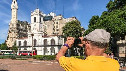 Centro histórico es parte del recorrido uno