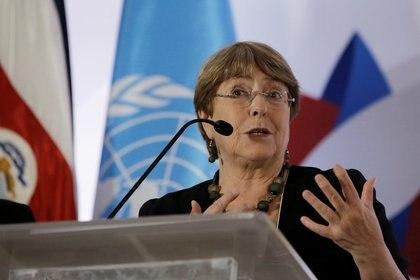 Michelle Bachelet. Foto: REUTERS/Juan Carlos Ulate