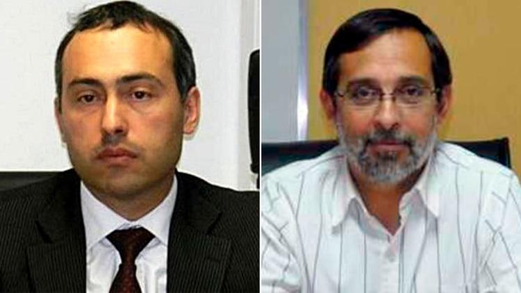 El juez penal Marcelo Nieto di Biase y el fiscal Fernando Rivarola, a cargo de la causa conocida como