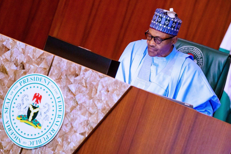 01/01/1970 El presidente de Nigeria, Muhamadu Buhari POLITICA AFRICA NIGERIA INTERNACIONAL PRESIDENCIA DE NIGERIA