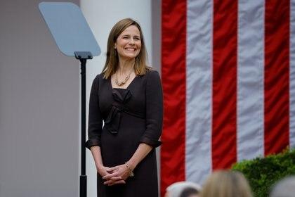 La jueza Amy Coney Barrett (REUTERS/Carlos Barria)