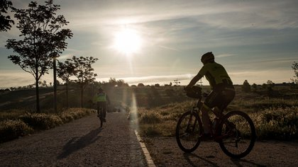 The second sport with the most benefits for mental health is cycling (Photo: EFE / Emilio Naranjo)