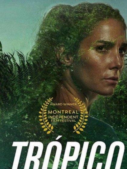 """Afiche de """"Trópico"""""""