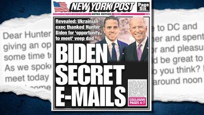 Facebook y Twitter, criticadas por permitir la circulación de discurso de odio, limitaron la difusión del enlace a la denuncia del New York Post que involucraba al hijo de Joe Biden.