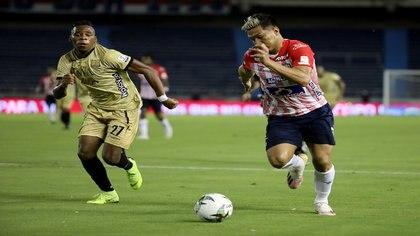 Imagen de archivo:  Junior comprometió su paso a los playoffs después de su empate con Rionegro Águilas en el Metropolitano de Barranquilla.