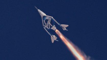 Virgin Galactic alcanzó los 82 kilómetros de altura en su vuelo espacial