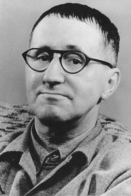 El gran dramaturgo y poeta alemán Bertolt Brecht