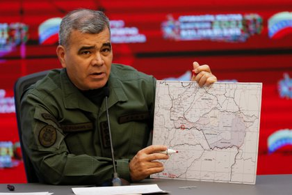Vladimir Padrino López, ministro de Defensa de la dictadura venezolana (REUTERS/Manaure Quintero)