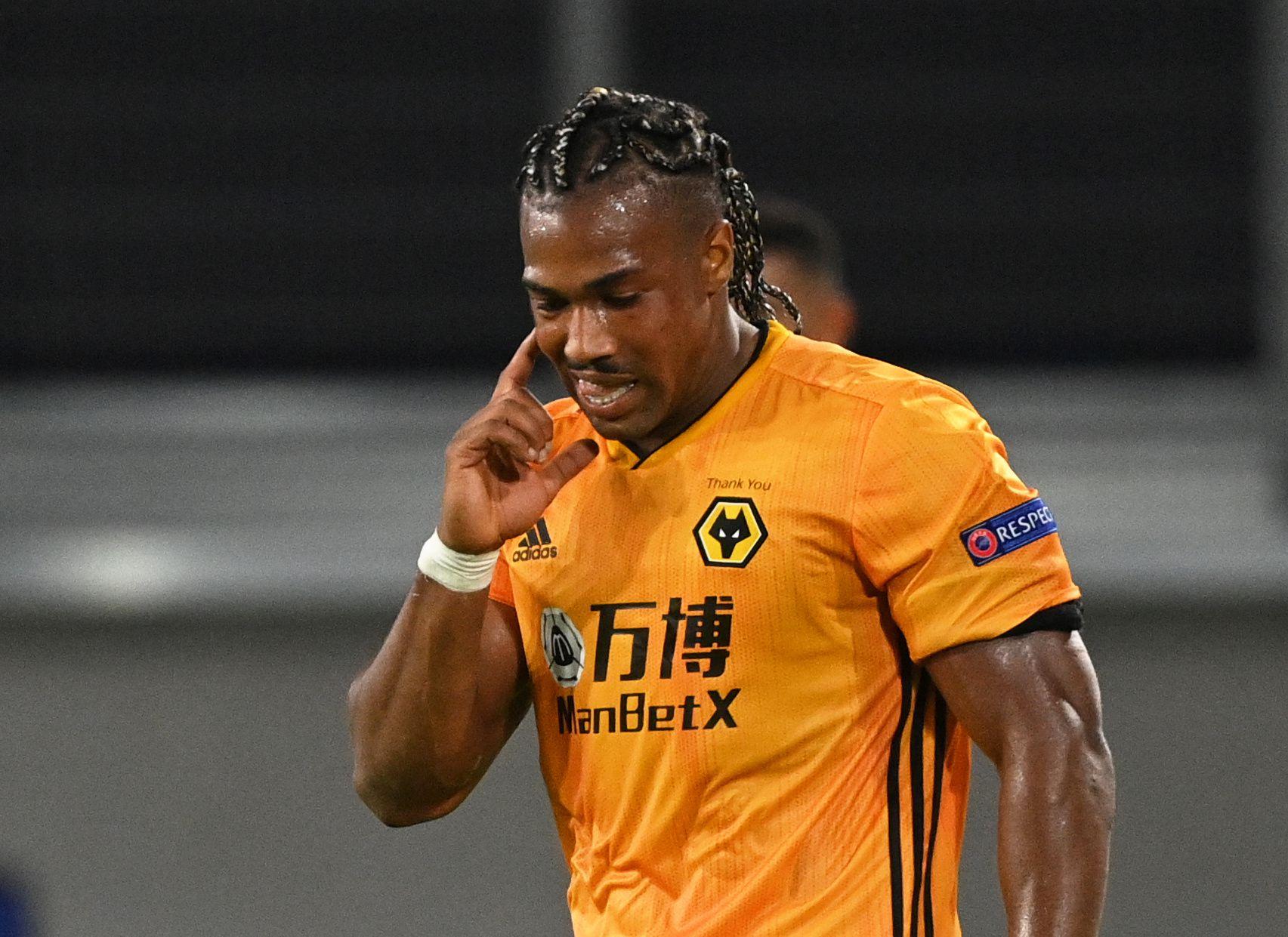 Adama Traoré, figura del Wolverhampton, fue convocado para representar a España y Malí (REUTERS)